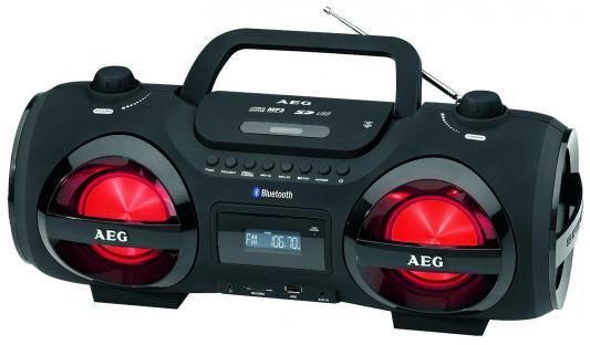Магнитола AEG SR 4359 BT черный casio g 8900 1e g shock