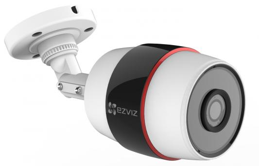 "Камера IP EZVIZ C3S CMOS 1/2.7"" 1920 x 1080 H.264 Wi-Fi RJ-45 LAN PoE белый черный CS-CV210-A0-52WFR"