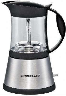 Кофеварка Rommelsbacher EKO 376/G черно-серебристый EKO 376/G