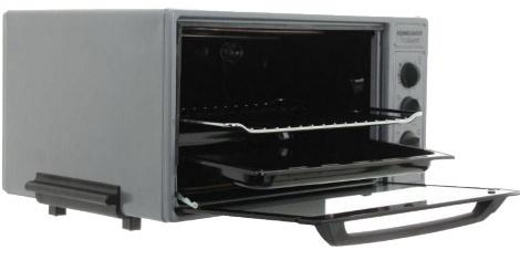 Мини-печь Rommelsbacher BG 1600 серый чёрный