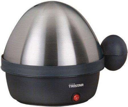Картинка для Яйцеварка Tristar EK-3076 серебристый черный 360 Вт EK-3076
