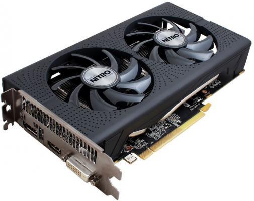 Видеокарта 4096Mb Sapphire RX 460 OC NITRO PCI-E HDMI DP DVI 11257-02-20G Retail
