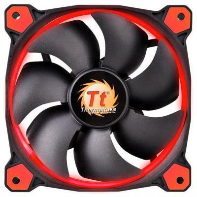 Вентилятор Thermaltake Fan Tt Riing 12 120x120x25 3pin 18.7-24.6dB красная подсветка CL-F038-PL12RE-A цена и фото