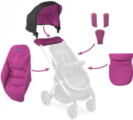 Набор аксессуаров к коляске Chicco Urban (aurora) chicco набор аксессуаров к коляске urban ibiza