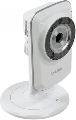 "Камера IP D-Link DCS-933L/A2A CMOS 1/5"" 640 x 480 H.264 MJPEG Wi-Fi RJ-45 LAN белый"