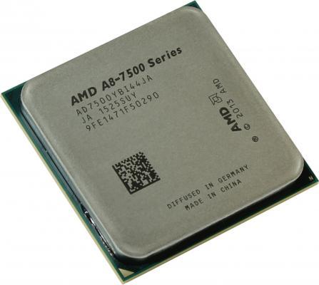 Процессор AMD A8 7500 3.0GHz 2Mb AD7500YBI44JA Socket FM2+ OEM процессор amd a8 7600 kaveri fm2 l2 4096kb oem ad7600ybi44ja