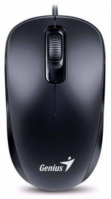 Мышь проводная Genius DX-110 чёрный PS/2 genius hs 300a silver