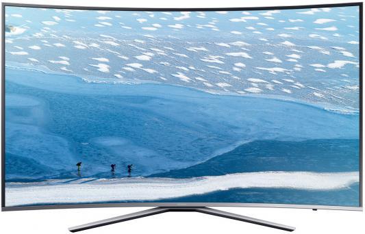 Телевизор Samsung UE55KU6500UXRU серебристый