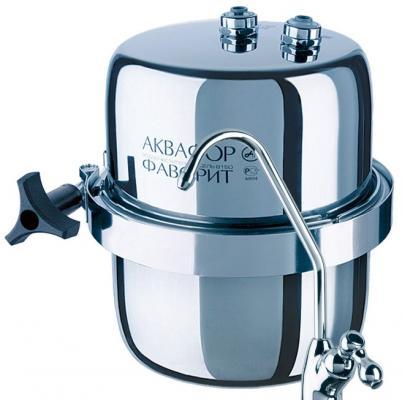 Фильтр для воды Аквафор B150 Викинг Мини серебристый