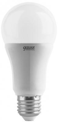 купить Лампа светодиодная шар Gauss LD23212 E27 12W 3000K по цене 95 рублей