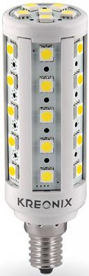 Лампа светодиодная цилиндрическая Kreonix 0776 E14 6.5W 3000K CORN-6,5W-E14-36SMD/WW