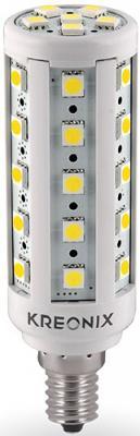 Лампа светодиодная цилиндрическая Kreonix 0844 E14 6.5W 6500K CORN-6,5W-E14-36SMD/CW
