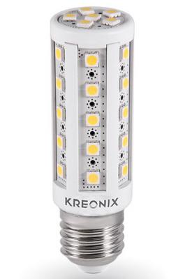 Лампа светодиодная цилиндрическая Kreonix CORN E27 6.5W 3000K CORN-6,5W-E27-36SMD/WW 2015