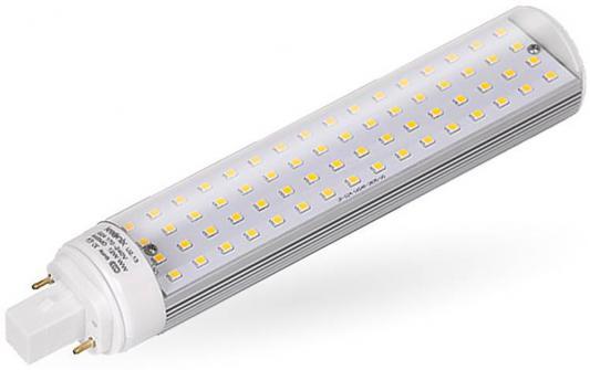Лампа светодиодная G24 12W 6500K кукуруза прозрачная PL-12W-G24-64SMD-CL/СW 2886