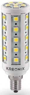 Лампа светодиодная цилиндрическая Kreonix CORN-6,5W-E14-36SMD/WW-DIM E14 6.5W 3000K 4019