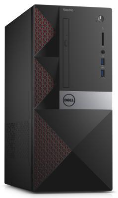 Системный блок Dell Vostro 3650 MT G4400 3.3GHz 4Gb 500Gb Intel HD DVD-RW Win7Pro клавиатура мышь черный 3650-0250