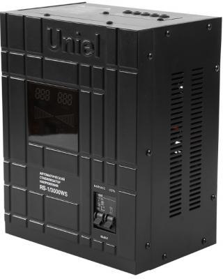 Стабилизатор напряжения Uniel (07382) 3000ВА RS-1/3000WS