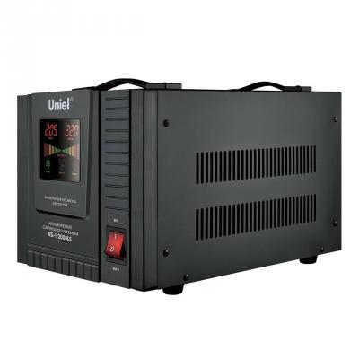 Стабилизатор напряжения Uniel (09499) 2000ВА RS-1/2000LS  стабилизатор напряжения uniel 09499 2000ва rs 1 2000ls