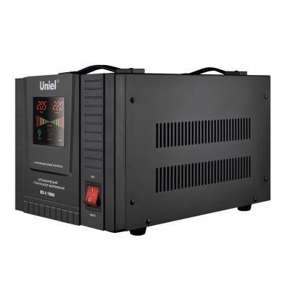 Стабилизатор напряжения Uniel (03108) 1000ВА RS-1/1000 стабилизатор напряжения uniel expert 09622 1000ва u ars 1000 1