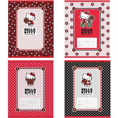 Тетрадь школьная Action! Hello Kitty 18 листов клетка скрепка HKO-AN-1801/5 в ассортименте тетрадь action клетка а5 80 листов в ассортименте