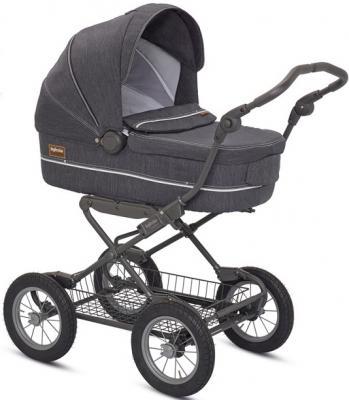 Коляска для новорожденного Inglesina Sofia на шасси Ergobike Slate (AB15H6DNM + AE15H6100)