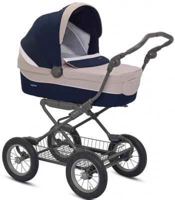 Коляска для новорожденного Inglesina Sofia на шасси Ergobike Slate (AB15H6CKI + AE15H6100)