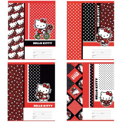 Тетрадь школьная Action! Hello Kitty 24 листа линейка скрепка HKO-AN-2401/1 в ассортименте HKO-AN-2401/1 цена