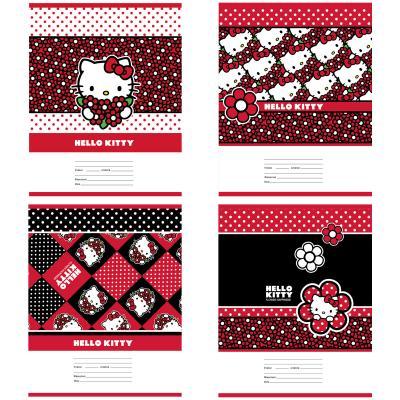 Тетрадь школьная Action! Hello Kitty 24 листа клетка скрепка HKO-AN-2401/5 в ассортименте HKO-AN-2401/5