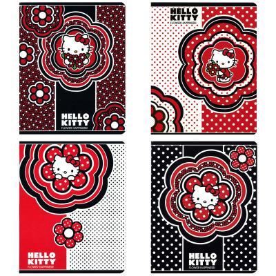 Тетрадь общая Action! Hello Kitty 48 листов клетка скрепка HKO-AN-4801/5 в ассортименте HKO-AN-4801/5