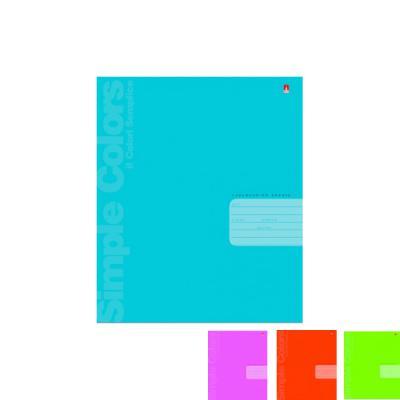 Тетрадь школьная Альт Простые цвета 24 листа линейка скрепка 7-24-773/2 7-24-773/2