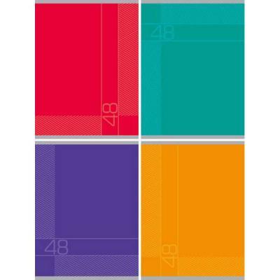 Тетрадь ученическая Би Джи КЛАССИКА 48 листов клетка евроспираль Т5гр48 1327 в ассортименте Т5гр48 1327