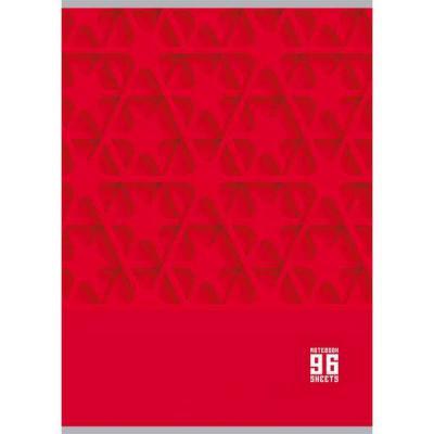 Тетрадь общая Би Джи Mono Color 96 листов клетка евроспираль Т4гр96 1213