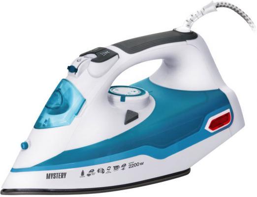 Утюг Mystery MEI-2217 2200Вт голубой/белый бюстгальтер mystery oup s
