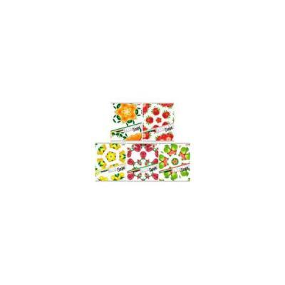 Тетрадь общая Хатбер Фруктовая мозаика 48 листов клетка скоба 028561 в ассортименте 48Т5В1/ФМ