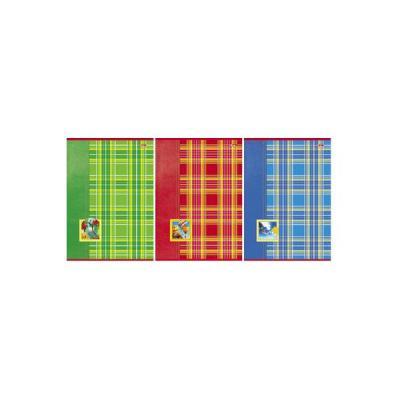 Тетрадь общая Хатбер Шотландка 80 листов клетка скрепка 013238 в ассортименте 80Т4влВ3/ШОТ