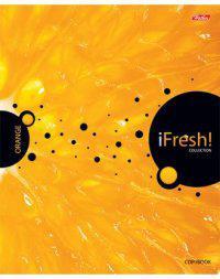 Тетрадь общая Хатбер IFRESH 031450 96 листов клетка гребень 96Т5В1гр/IFRESH в ассортименте 96Т5В1гр/IFRESH