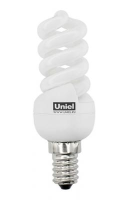 Лампа энергосберегающая (0436) E14 9W 2700K спираль матовая ESL-S21-09/2700/E14