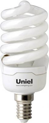 Лампа энергосберегающая спираль Uniel 05252 E14 15W 4000K ESL-S41-15/4000/E14