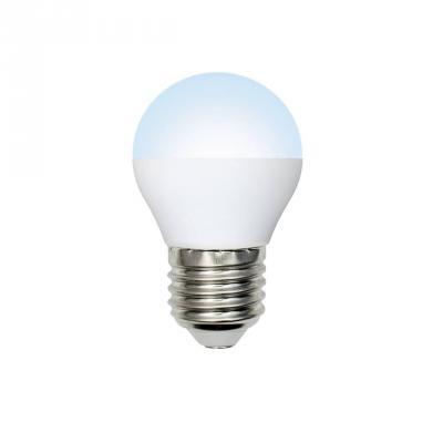 Лампа светодиодная шар Volpe Optima E27 6W 4500K LED-G45-6W/NW/E27/FR/O