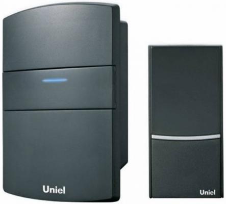 Звонок дверной беспроводной Uniel черный UDB-001W