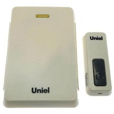 Звонок беспроводной (03610) Uniel UDB-005W-R1T1-32S-100M-LS звонок uniel udb 005w r1t1 32s 100m ls