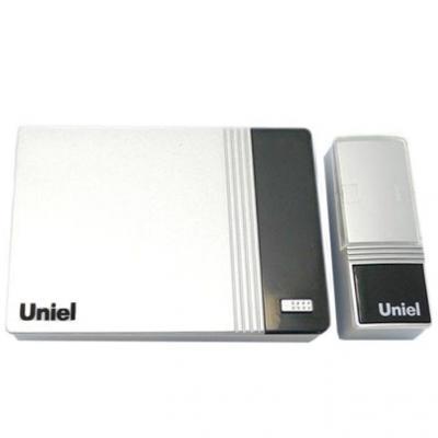 Звонок беспроводной (03614) Uniel UDB-006W-R1T1-32S-100M-WH