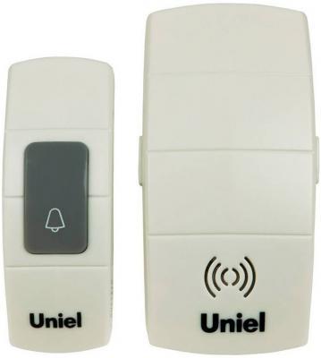 Звонок беспроводной (05463) Uniel UDB-088W-R1T1-32S-100M-WH