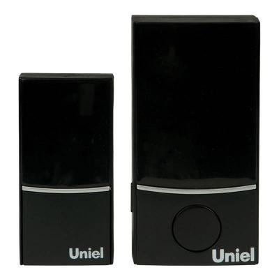 Звонок беспроводной (05467) Uniel UDB-089W-R1T1-32S-100M-BL