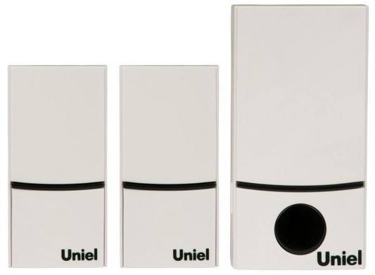 цена на Звонок беспроводной (05470) Uniel UDB-090W-R1T2-32S-100M-WH