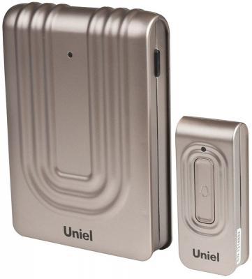 Звонок беспроводной (08278) Uniel UDB-010W-R1T1-32S-150M-CH
