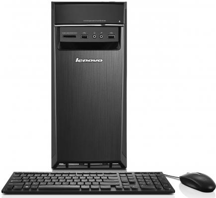 Системный блок Lenovo IdeaCentre 300-20ISH MT i3-6100 3.7GHz 4Gb 500Gb DVD-RW Win10Pro клавиатура мышь черный 90DA00FRRK