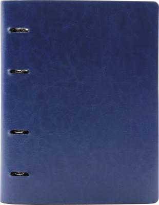 Тетрадь офисная Index ICO01/A5/BU 160 листов клетка кольца ICO01/A5/BU