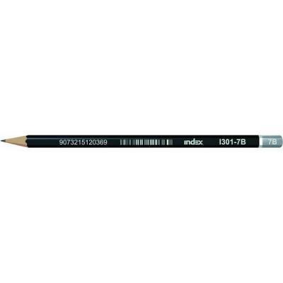 Карандаши чернографитные Index I301-7B 12 шт I301-7B
