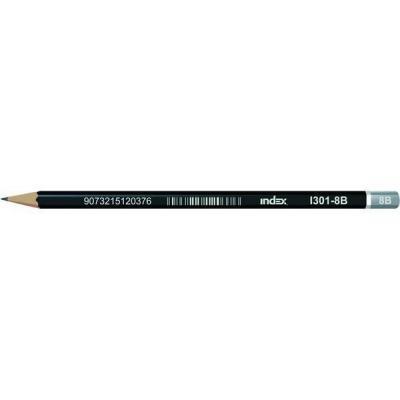 Карандаши чернографитные Index I301-8B 1 шт I301-8B